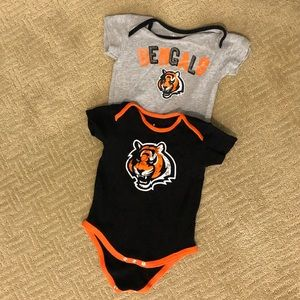 Cincinnati Bengals body suits